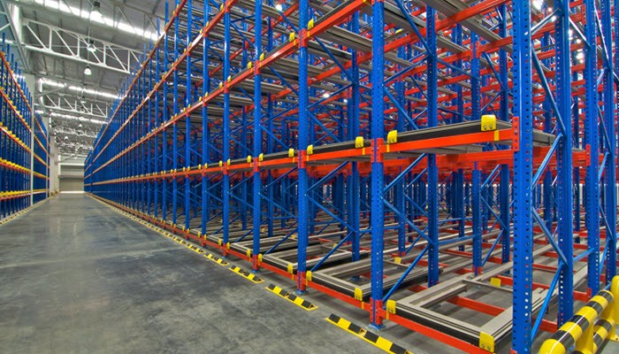 kinds of pallet racking